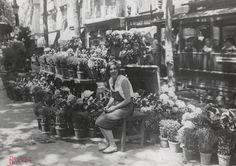 RAMBLA Barcelona circa 1930