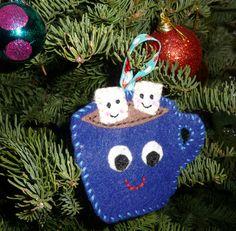 Adult Craft Night @ Ruiz - December 1- 6:30-8:30. Felt Ornaments