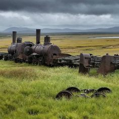 Explored Nome today – drove out to see the Last Train to Nowhere.