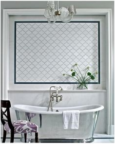 Lantern Tile Bath Design Ideas, Pictures, Remodel and Decor Moroccan Tile Bathroom, Eclectic Bathroom, Moroccan Tiles, Moroccan Kitchen, Modern Moroccan, Bathroom Tile Designs, Bathroom Interior Design, Bathroom Ideas, Bathroom Goals