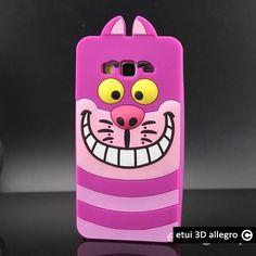 Etui Samsung Galaxy Grand Prime G530 Szalony kot Alicja  w krainie czarów