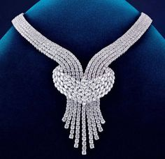 thegryphonsnest:    Diamond Necklace by De Beers
