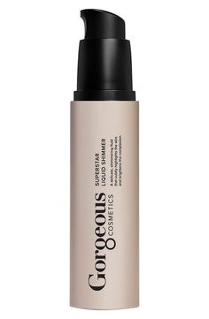 Love liquid shimmer for a gorgeous sheen and healthy glow.