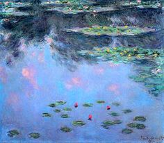 Claude Monet / Water lilies, 1906-07
