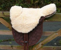 Treeless Saddle - LIBRA BAREBACK RIDING PAD - Brown, Pony/Cob/Full Size