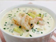 Самым привередливым едокам! Сырный суп с креветками