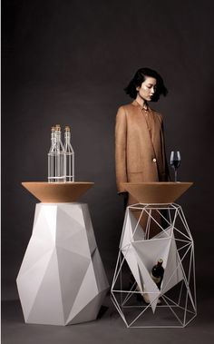 POSITIVE NEGATIVE BAR COUNTER BY YOUNG CHINESE DESIGNERS XIAOFEI CUI
