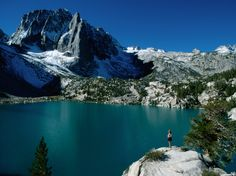 The turquoise, glacier-fed waters of Second Lake—part of the Big Pine Lakes in California—reflect the towering Temple Crag, one of the highest peaks in the Eastern Sierra.  See more on CNTraveler:Italy's Most Beautiful Coastal TownsThese Lighthouses in Winter Are Picture-PerfectAwesome Ice Formations and Glaciers Around the World
