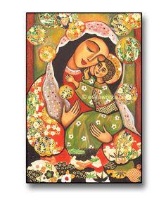 Mary and Jesus...  María y el Niño Jesús...