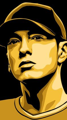 Eminem illustration - High quality htc one wallpapers and abstract backgrounds designed by the best and creative artists in the world. Eminem Wallpapers, Dope Wallpapers, Iphone Wallpapers, Arte Do Hip Hop, Hip Hop Art, Pop Art Portraits, Portrait Art, Caricature, Capas Samsung