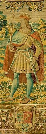 Olaf II of Denmark (1370 - 1387). Son of Margaret I and Haakon VI of Norway. He succeeded his grandfather as King.
