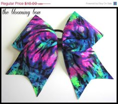 ON SALE Cheer Bow by TheBloomingBow on Etsy