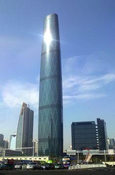 13° – Guangzhou West Tower – 440 m