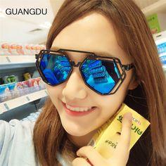 GUANGDU Fashion Sunglasses Men Polarized Sunglasses Men Driving Mirrors Coating Points Black Frame Eyewear Male Sun Glasses