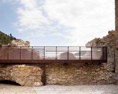 Restoration of Doria Castle in Dolceacqua