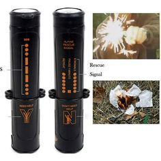 10in1 camping #survival magnesium #flint steel striker fire starter #lighter,  View more on the LINK: 	http://www.zeppy.io/product/gb/2/331802607146/
