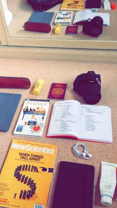 diaryofapremedstudent:    13:23     Packing for Australia!   22 hour flight tomorrow    I hope I can complete some of my reading for uni during that time for when I get back!