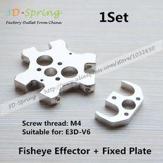 $13.26 (Buy here: https://alitems.com/g/1e8d114494ebda23ff8b16525dc3e8/?i=5&ulp=https%3A%2F%2Fwww.aliexpress.com%2Fitem%2FBrass-Volcano-Nozzle-1-2mm-1-2-For-1-75mm-High-Flow-Big-Caliber-Lengthen-Copper%2F32476788640.html ) 1Set E3DV6 Double Nozzle Special Fisheye Effector + Fixed Plate Aluminum Alloy CNC For 3D Printer Accessories for just $13.26