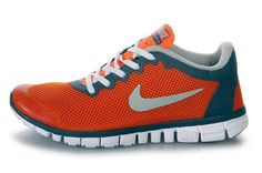076233814b8d1 Buy Nike Free Orange Blue White Running Shoes with best discount.All Nike  Free Mens shoes save up.
