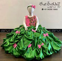 Dress For Girl Child, Baby Girl Dresses, Flower Girl Dresses, Kids Frocks Design, Baby Frocks Designs, Baby Dress Design, Frock Design, Indian Fashion Dresses, Abaya Fashion
