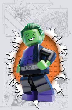 Teen Titans #4 LEGO Variant Cover