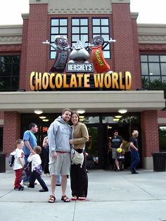 Hershey Park is always a success that combines our favorite chocolate and an amusement park!