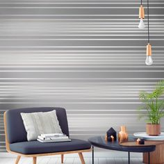 A striking striped metallic wallpaper design in mocha/rose gold from the Mayfair Wallpaper Collection. Go Wallpaper UK stock a wide range of Crown Wallpaper. Striped Wallpaper Gray, Tartan Wallpaper, Stripped Wallpaper, Copper Wallpaper, Rose Gold Wallpaper, Wallpaper Uk, Luxury Wallpaper, Contemporary Wallpaper, Wallpaper Ideas