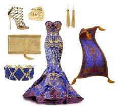 """""""Magic carpet (Aladdin)"""" by angle12345 ❤ liked on Polyvore featuring Dsquared2, Yves Saint Laurent and Fantasy Jewelry Box"""
