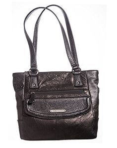 Willow Large Tote BagBLACK Black >>> To view further for this item, visit the image link. Amazon Associates, Black Tote Bag, Large Tote, Solid Black, Handbags, Shoulder Bags, Image Link, Awesome, Check