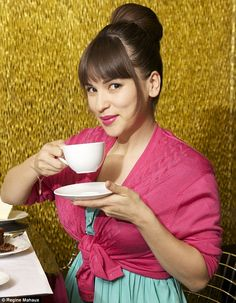 Wow!!! Taking a cup of coffee with Rachel Khoo!!!