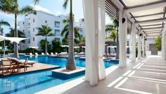 Gansevoort Turks and Caicos: On a wild stretch of Providenciales, the Gansevoort adds a hip scene to this laid-back isle.