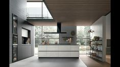 Modern Kitchens 2020 Modern Kitchen Cabinets, Open Kitchen, Modern Kitchen Design, Kitchen Showroom, Kitchen Interior, European Kitchens, Modern Kitchens, German Kitchen, Wood Square