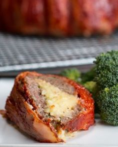 Bacon-wrapped Mashed Potato-stuffed Meatloaf Recipe by Tasty