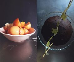petiscosemiminhos: {Bolo de aniversário} ricotta, laranja e chocolate/ {Birthday cake} ricotta, Orange, chocolate