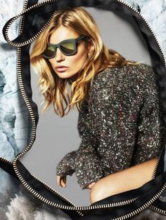 The new Stella McCartney ads feature Kate Moss—and they're FANTASTIC. // #Fashion