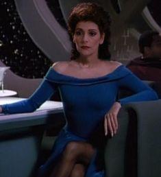 Counselor Deanna Troi (Marina Sirtis)