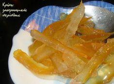 Spoon sweet bergamot (VIDEO) – cretangastro … – Pastry World Greek Sweets, Homemade Sweets, Marmalade, Bergamot, Thai Red Curry, Spoon, Tableware, Ethnic Recipes, Dinnerware