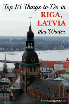 Days may be freezing and short, but that's no reason to hibernate! From the opera and hockey to shopping for Latvian mittens and visiting a cat cafe, here are the top things to do in Riga, Latvia in winter.