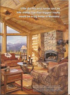 Exclusive Log Homes | Luxury Log Homes http://www.sawyercreekwoodworks.com/Luxury_Log_Home ...