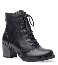Ames Black Antiqued Calf from the Astoria
