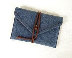 Denim Wallets made from old jeans #upcycle #creative #reuse