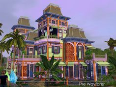 Found in TSR Category 'Sims 3 Residential Lots' Sims 3, Casas The Sims 4, Download Cc, Free Sims, Sims Games, Sims 4 Build, Sims 4 Houses, Sims Resource, Wayfarer