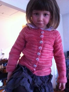LilleRosin: Jentejakke