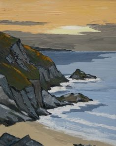 David BARNES - Anglesey Sunset