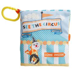Soft Book - See The Circus