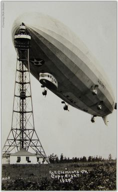 Zeppelin airship LZ 126 USS Los Angeles ZR-3 1924