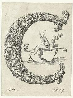 Letter 'C' (Jan Chrystian Bierpfaff + Jeremiasz Falck, 1656) | Flickr - Photo Sharing!