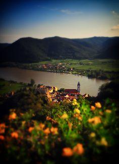 Dürnstein, a lovely village on the Danube in Austria by Yohsuke_NIKON_Japan, via Flickr