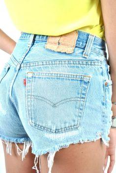 DIY: Cutoff Shorts with Flair! — Crafthubs