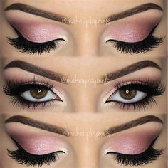 All Pink Makeup Look
